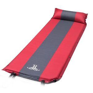 Single-Self-Inflating-Pad-Sleeping-Mattress-Mat-Air-Bed-Camping-Hiking-Outdoor-3