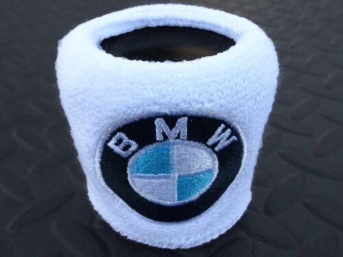 Pair BMW Brake Reservoir Socks Reservoir Covers Embroidered Cotton BMW S1000RR W