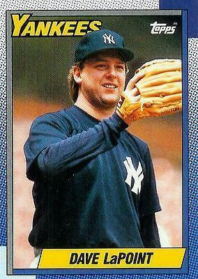 Dave LaPoint Yankees 1990 Topps #186