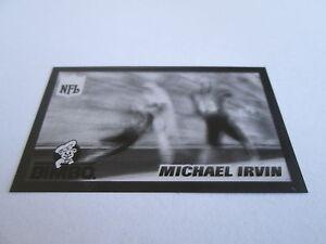 1996-Pinnacle-Bimbo-Bread-ACETATE-OVERLAY-PROOF-SET-OF-2-Michael-Irvin-Cowboys