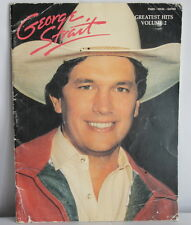Vtg 1976 GEORGE STRAIT GREATEST HITS Volume 2 Songbook sheet Music Song Book