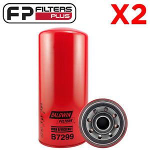 Details about 2 x B7299-TX Baldwin Oil Filter - Caterpillar C10 C11 C12 C13  C15 C16 - 1R1808