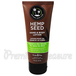 Earthly Body Hemp Seed Moisturizing Oil Spray 8 oz - Naked