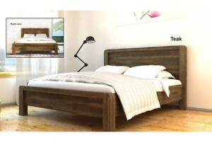 Hot Sale Luxury Solid Wooden Bed Frame Country Handcrafted
