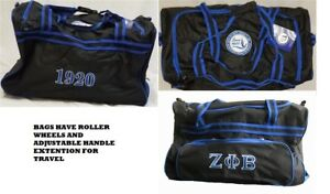 zeta phi beta luggage
