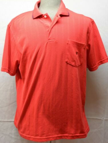 Mister Pat Primo Size Large Short Sleeve Red Polo