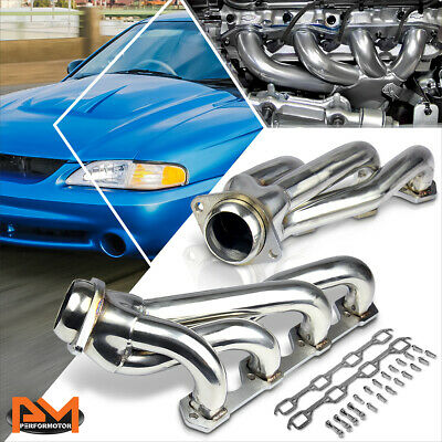 Stainless Steel Shorty Exhaust Header Manifold for 64-77 Ford Mustang 5.0 302 V8