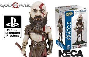 Neca Sony Ps4 - God Of War Kratos Tête Knockers Hand Peint Neuf/emballé