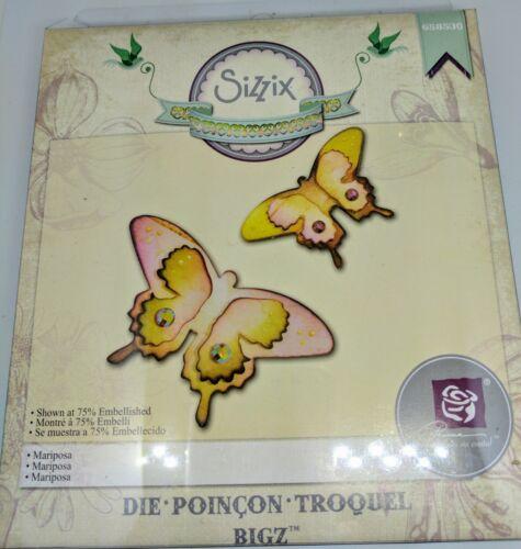 sizzix bigz die Mariposa  by Prima designs  RRP £14.99 658530