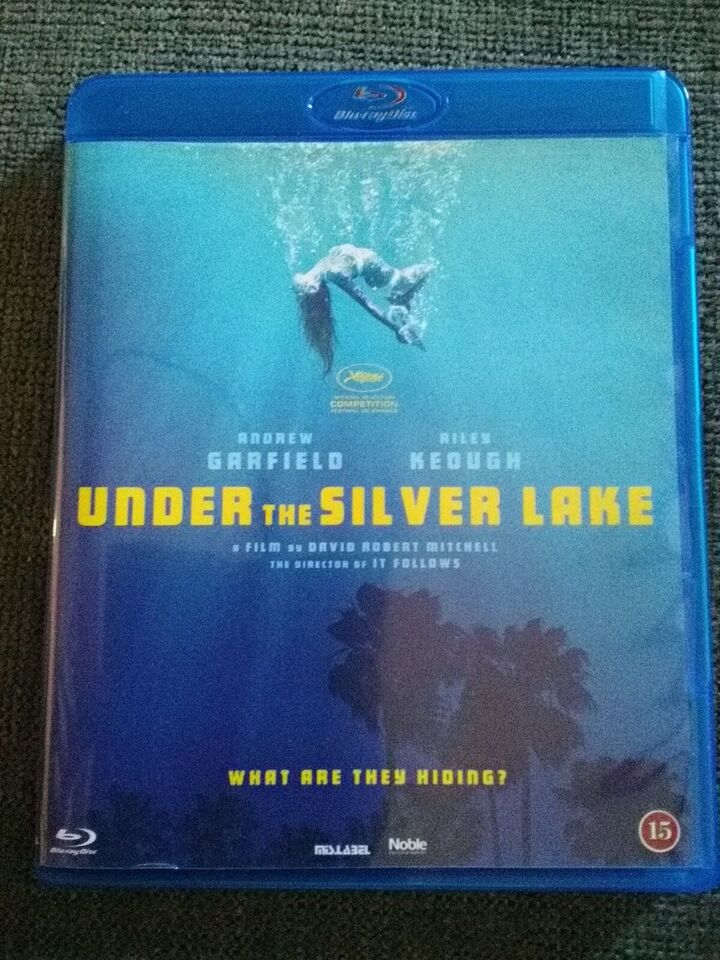 Under The Silver Lake, Blu-ray, thriller