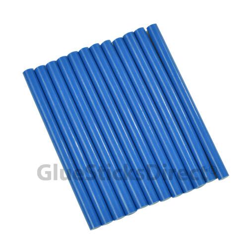 "GlueSticksDirect Royal Blue Colored Glue Sticks mini X 4/"" 12 sticks"