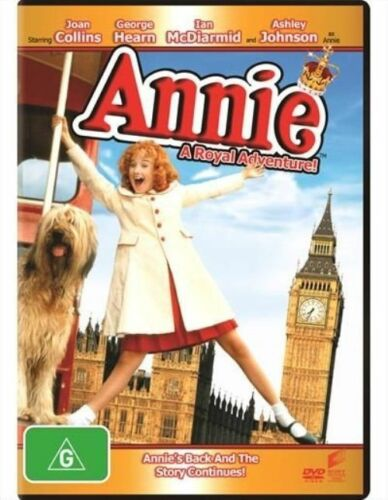 1 of 1 - Annie: A Royal Adventure (DVD)   Region 4 - Very Good Condition
