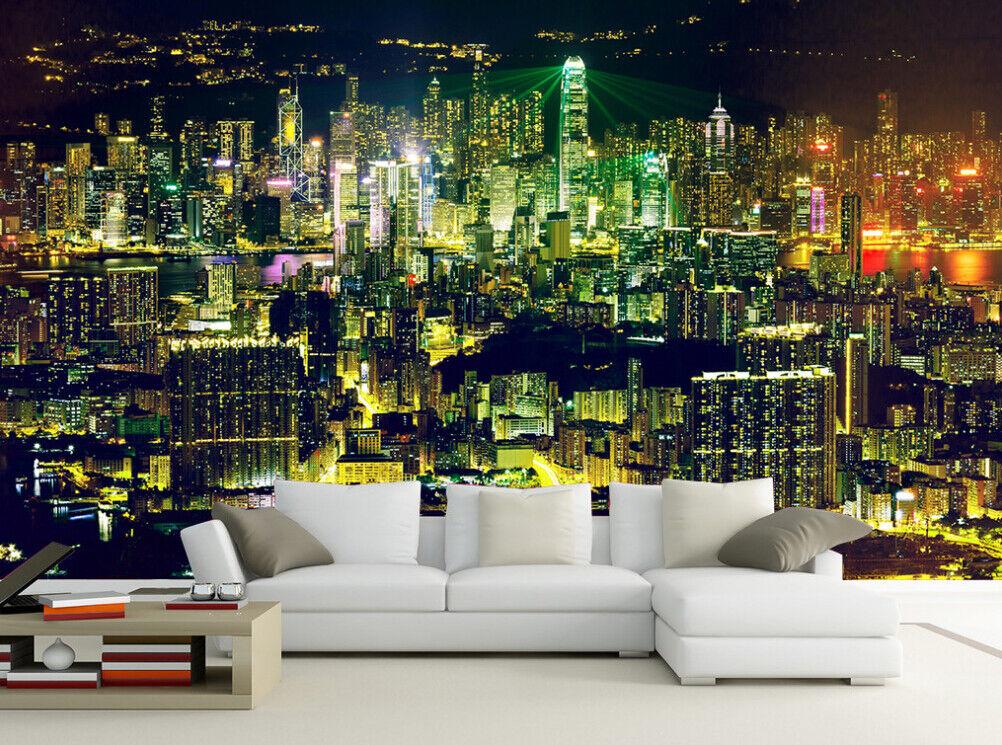 3D Prosperous City 7 Wall Paper Murals Wall Print Wall Wallpaper Mural AU Summer