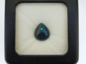 5-05CT-100-NATURAL-LIGHTNING-RIDGE-AUSTRALIAN-BLACK-PEAR-SHAPE-OPAL-SEE-VIDEO