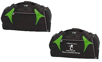 Sporttasche mit Schuhfach Freizeittasche Reisetasche Trikottasche Chabaane