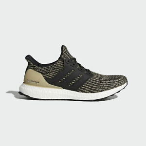 NEW MEN 'S ORIGINALS ADIDAS ULTRABOOST SHOES  [BB6170]  BLACK//BLACK-GOLD