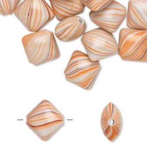 6236 Acrylic Beads Puffed Diamond Vintage Style 18mm PK30 *UK  SHOP*