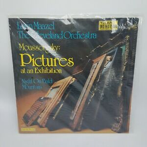 Moussorgsky-PICTURES-AT-AN-EXHIBITION-Lorin-Maazel-Telarc-Digital-LP-NM-Cello
