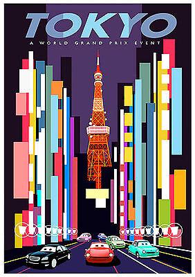 vintage retro travel /& railways posters #3 JAPANESE GOVERMENT RALWAYS A3