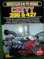 HOT ROD on CHEVY CHEVROLET 396 427 V8 BIG-BLOCK ENGINES tune modify book manual