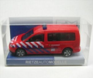 VW-Caddy-Maxi-Bus-Brandweer-Arnhem-1-43-Rietze-Fire-Brigade-Arnhem-Nl