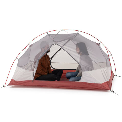 2-3 Person 210T Double-layer Tent Outdoor Camping Travel Waterproof 3 Season