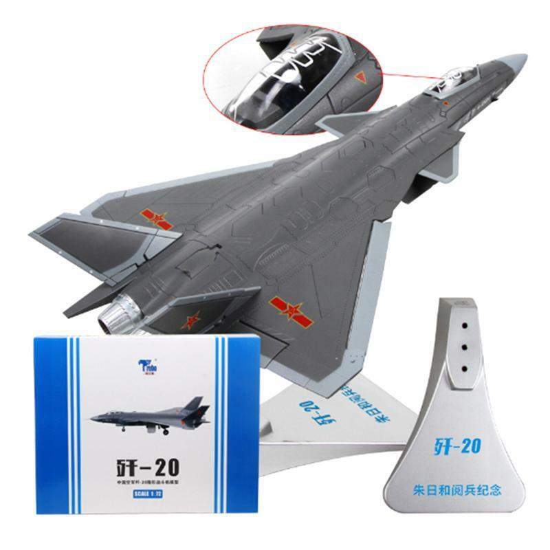 J-20 1 72 Metal Airplane Parade Aircraft Static Jet Model Collection Decoration
