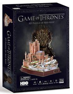 Juego-de-tronos-ubicaciones-Rojo-mantener-Rompecabezas-3D-PL