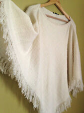 Lauren Ralph1 Lauren Wool Blended Poncho Sweater New