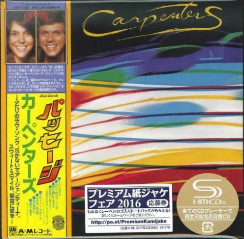 CARPENTERS-PASSAGE-JAPAN MINI LP SHM-CD Ltd/Ed G00
