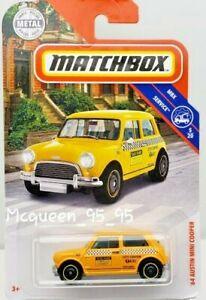 Matchbox-2019-MBX-039-64-Austin-Mini-Cooper-gelb