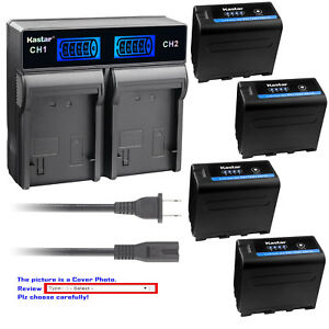Kastar-Battery-Rapid-Charger-for-Sony-NP-F970-Pro-CCD-TR411-CCD-TR412-CCD-TR413