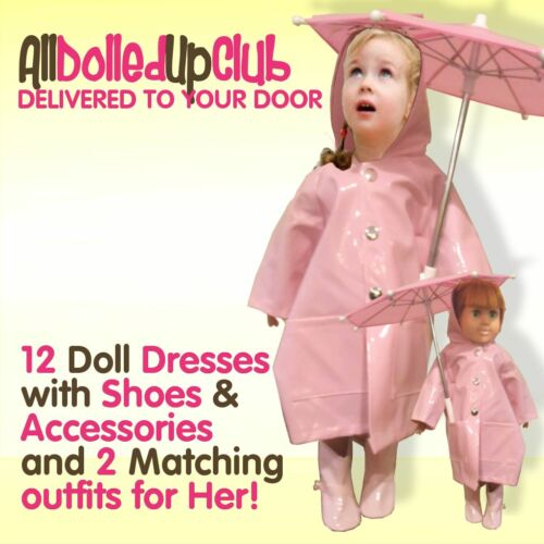All Dolled Up Club 1 Year Membership for Doll Clothing Club