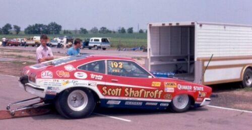 Scott Shafiroff Mustang II 1//64th Scale WATERSLIDE DECALs