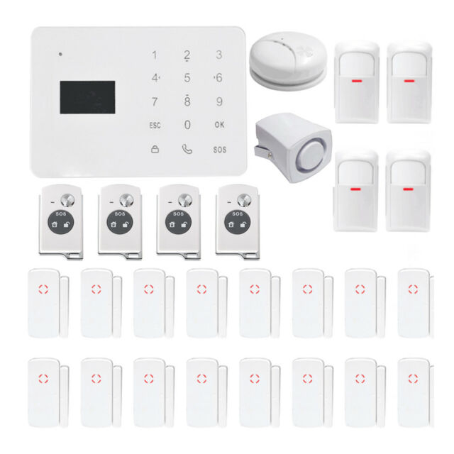 wireless wired home security touch screen gsm alarm system 27