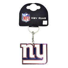 NFL NEW YORK GIANTS CLUB CREST METAL KEYRING KEY RING KEYCHAIN NEW GIFT XMAS