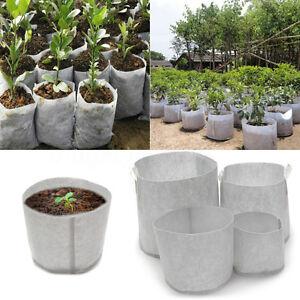 Image Is Loading 10pcs Fabric Grow Tree Pots Planter Bags Smart