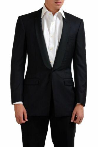 Gianni Versace Couture 100/% Wool Black One Button Blazer Sz 36R 42L 44R 40R