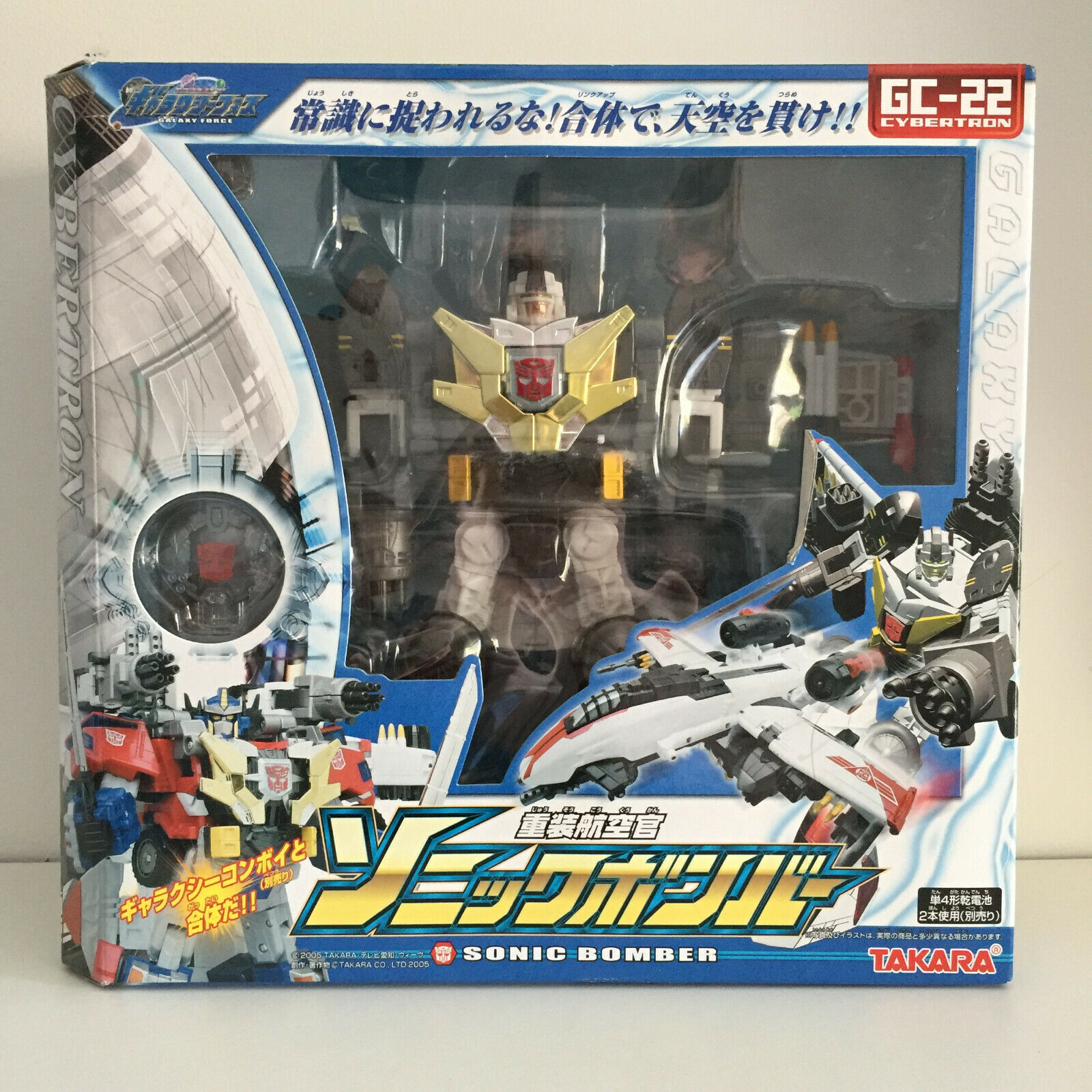 [NUOVO IN SCATOLA] Takara Transformers Galaxy Force GC22 Bomber Sonic