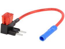 10Ah ATM Sicherungshalter für Autoradio Zündungsplus Abgriff mit 14cm Kabel max