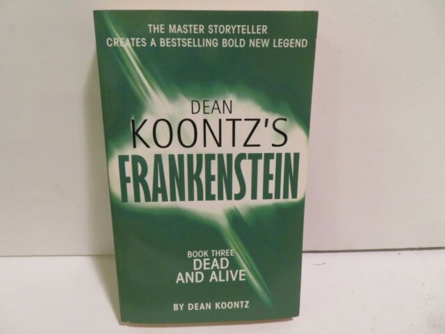 Frankenstein- Book 3 Dead and Alive -UK Edition HARPER