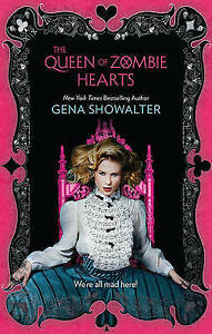 NEW-The-Queen-of-Zombie-Hearts-By-Gena-Showalter-Paperback-Free-Shipping