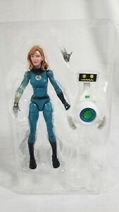 """Marvel Legends 6/"""" Inch Walgreens Fantastic Four 4 Invisible Woman Loose Complete"""