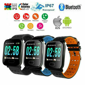 Sports-Waterproof-Activity-Tracker-Fitness-Smart-Watch-Swimming-Fit-Style-A6