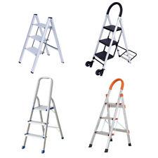 Vilobos 3 Step Ladder Aluminum Folding Heavy Duty Non Slip Platform Stool 330lbs