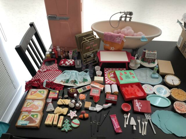 American Girl Lot Kitchen And Bath