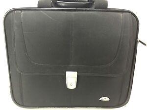 Samsonite Classic 3 Gusset Large Toploader Black Non-Wheeled Briefcase Travel