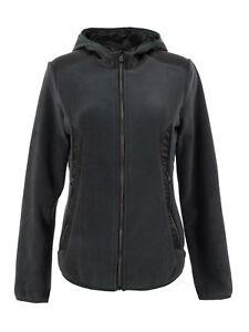 Woman Atmungsaktiv Hood Jacke Fix Jacket Cmp Fleecejacke Dunkelgrün OPwEgg