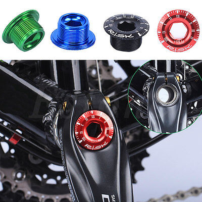 Anodized Arm Fixing Bolt Bike Bicycle Crank Chainset Screw Axis For Shimano RKCA