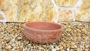 Terracotta-Cotto-Pflanztrog-Pflanzkuebel-Dekoration-Italien-Schale-18cm